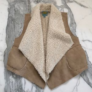 C&C California Faux Shearling Vest